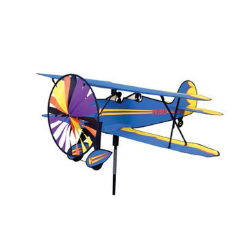 Premier Kites & Designs Windspinner, Biplane Multi-Colored