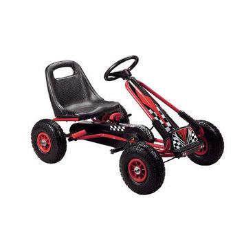 Vroom Rider Racing Pedal Go Kart Color: Black