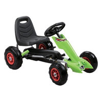 Vroom Rider Zoom Pedal Go Kart Color: Red