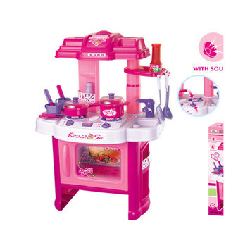 Berry Toys Fun Cooking Plastic Play Kitchen Color: Blue