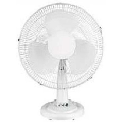 Optimus F1211 Table Fan Oscillating 12Inch