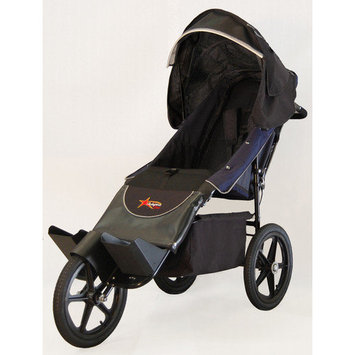 Adaptive Star Endeavour 1.5 - Aed1.5N Indoor/Outdoor Mobility Push Chair, Navy/Black