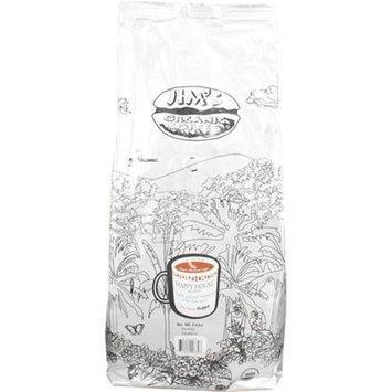 Jim's Organic Coffee Happy House Blend Medium Light Roast Whole Bean - 5 lbs