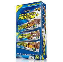MuscleTech 100% Premium Protein Plus Variety Pack - 1.7 oz. - 18 Bars