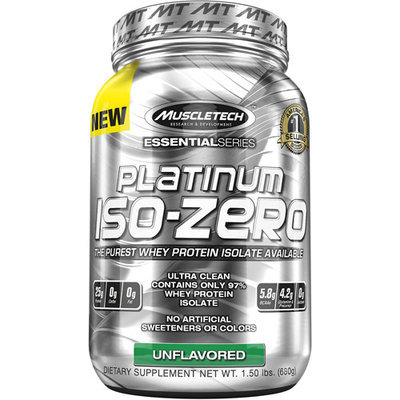 Muscletech Platinum IsoZero Unflavored