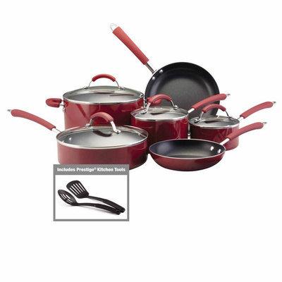 Farberware Bronze Millennium Aluminum Nonstick 12-pc. Cookware Set