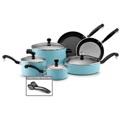 Farberware Classic Colors 12-pc. Camel Aluminum Cookware Set