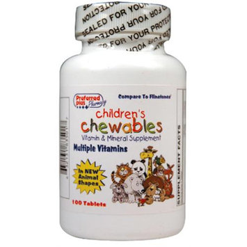 Kpp Childrens Chewables Multiple Vitamin Tablets - 100 Each