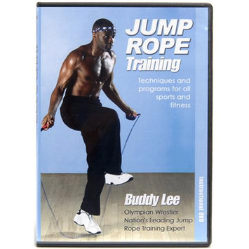 Jump Rope Technologies Buddy Lee Jump Rope Training Instructional DVD