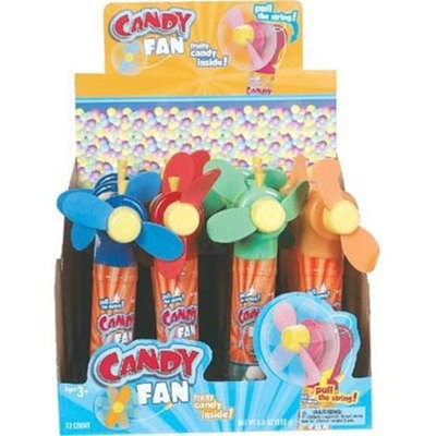 Ddi Candy Fan With Hard Candy Case Pack 144