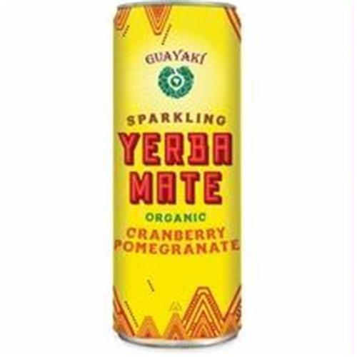 Guayaki - Yerba Mate Sparkling Cranberry Pomegranate - 12 oz.