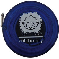 K1C2 KH652-BL Knit Happy Tape Measure-Blue