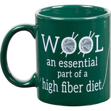 K1c2 Knit Happy Green Mug-Wool