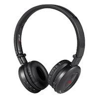 Sykik Headset - Stereo - Black - Wireless - Bluetooth - 32.8 ft - 32 Ohm - 20 Hz - 20 kHz - Over-the-head - Binaural - 82 dB SNR - Circumaural