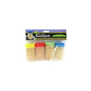 Ddi 4 Pk Toothpick With Holder(Case of 72)