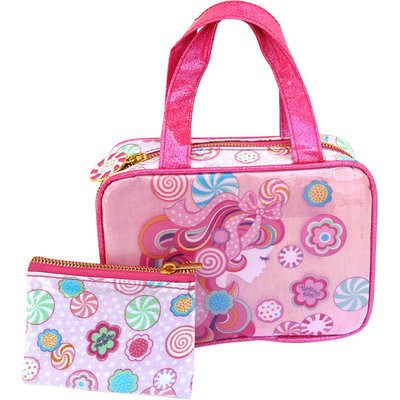 Pampered Girls Candee 2-pc. Cosmetic Bag Set