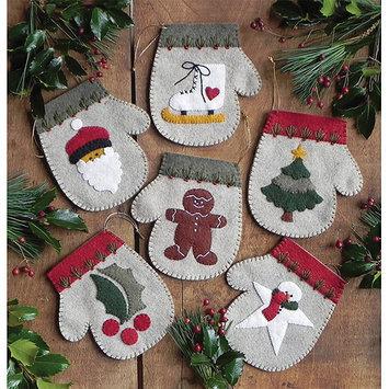 Rachels Of Greenfield Warm Hands Ornament Kit-Set Of Six