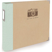 We R Memory Keepers 30789-1 Teresa Collins Albums Made Easy 3-Ring Album 12 in. X12 in. -Snapshot