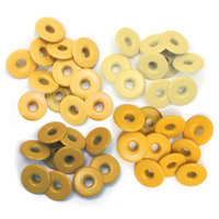 We R Memory Keepers 459280 Eyelets Wide 40-Pkg-Yellow