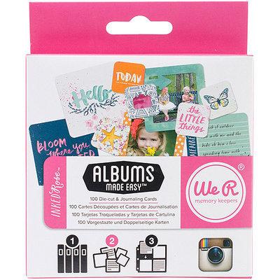 We R Memory Keepers Instagram Albums Made Easy Journaling Cards-Farmer's Market 100/Pkg