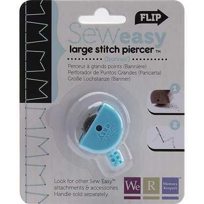 We R Memory Keepers 479755 Sew Easy Large Stitch Piercer-Smocking