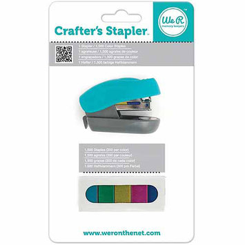 We R Memory Keepers Crafter's Stapler & Colored Staples