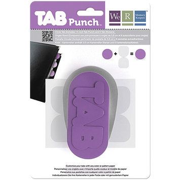 We Tab Punch - Circle 1-1/2