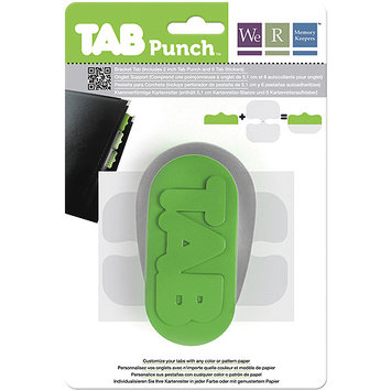 We Tab Punch-Bracket, 2