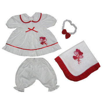 Molly P. Originals Molly P. Apparel Sweetheart 18 in. Doll Ensemble