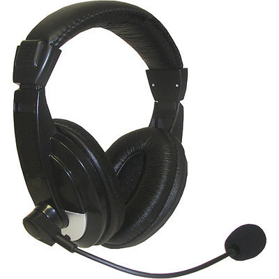 Nady QHM-100 Stereo Headphones with Boom Microphone