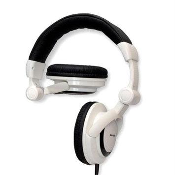Nady DJH-1000 Dj Style Foldable Headphones Accs Wht Color