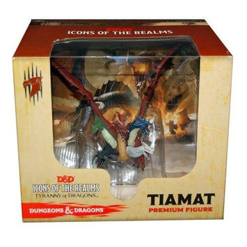 Wizkids 71857 Dungeons And Dragons Fantasy Miniatures - Icons Of The Realms Tiamat