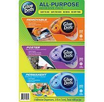 Glue Dots International Glue Dots, Instant Bonding Adhesives, 3pk
