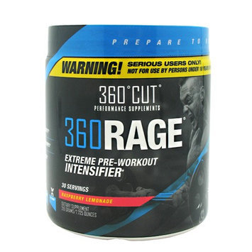 360Cut 7870012 360 Rage Rasperry Lemonade 30 Serving