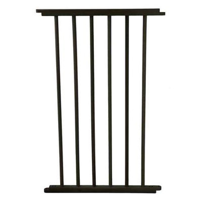 Cardinal Gates 20 in. Black Extension for VersaGate VG20-BKP