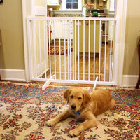 Cardinal Extra Tall Freestanding Pet Gate - White