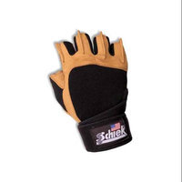 Schiek Sports 425 Power Gel Lifting Glove with Wrist Wraps XS