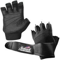 Schiek Sports 540P Pink Womens -Gel- Lifting Gloves with Wrist Wraps - XS