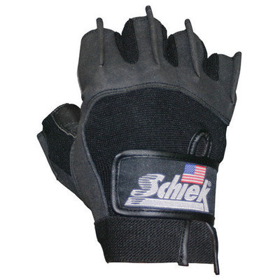 Schiek Sports H-715M Premium Gel Lifting Gloves - M