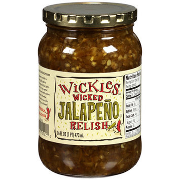 Wickles Wicked Jalapeno Relish, 16 fl oz