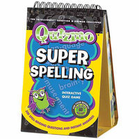 Infinitoy Quizmo Flip Book-Super Spelling