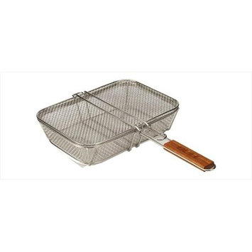 Bull Bbq Bull Outdoor Products 24212 Stainless Wire Mesh Shaker Basket with Lid