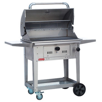 Bull Outdoor Products 67530 Bison Charcoal Grill Cart