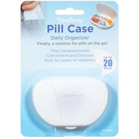 VitaCarry - Pocket Pill Case With 4 Compartments - 1 Case CLEARANCE PRICED