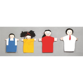 Childrens Factory Children s Factory CF100-719 Asian Family Hand Puppets