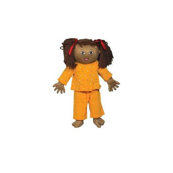 Childrens Factory Children s Factory CF100-632 Down Syndrome Light Brown Girl Doll