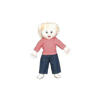 Childrens Factory Children s Factory CF100-633 Down Syndrome White Boy Doll- Blonde