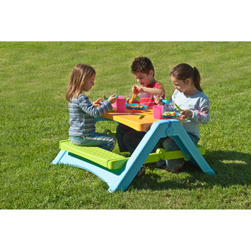Tot's Play Patio Tables. Foldable Picnic Table