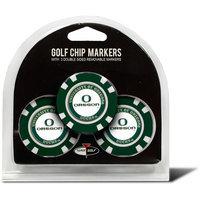 Team Golf Oregon Ducks 3-pack Poker Chip Ball Markers