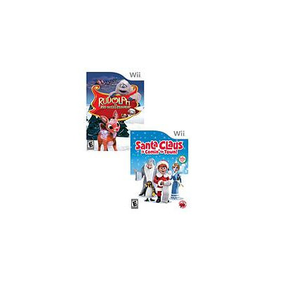 Red Wagon Christmas Fun 2 Pack - Wii